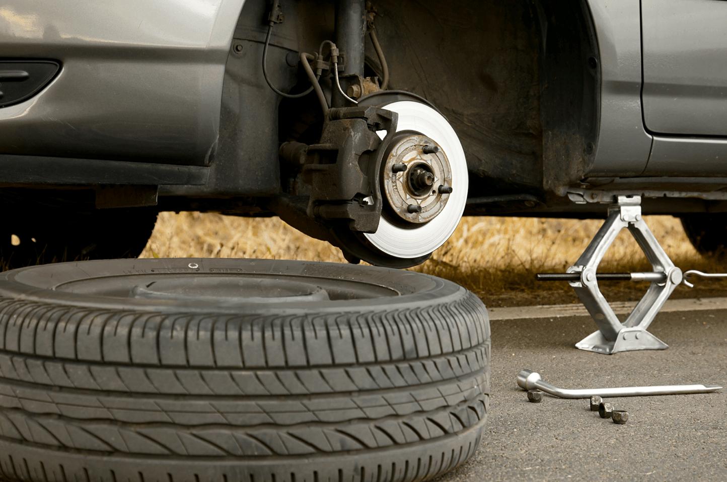 araba lastiği nasıl değiştirilir