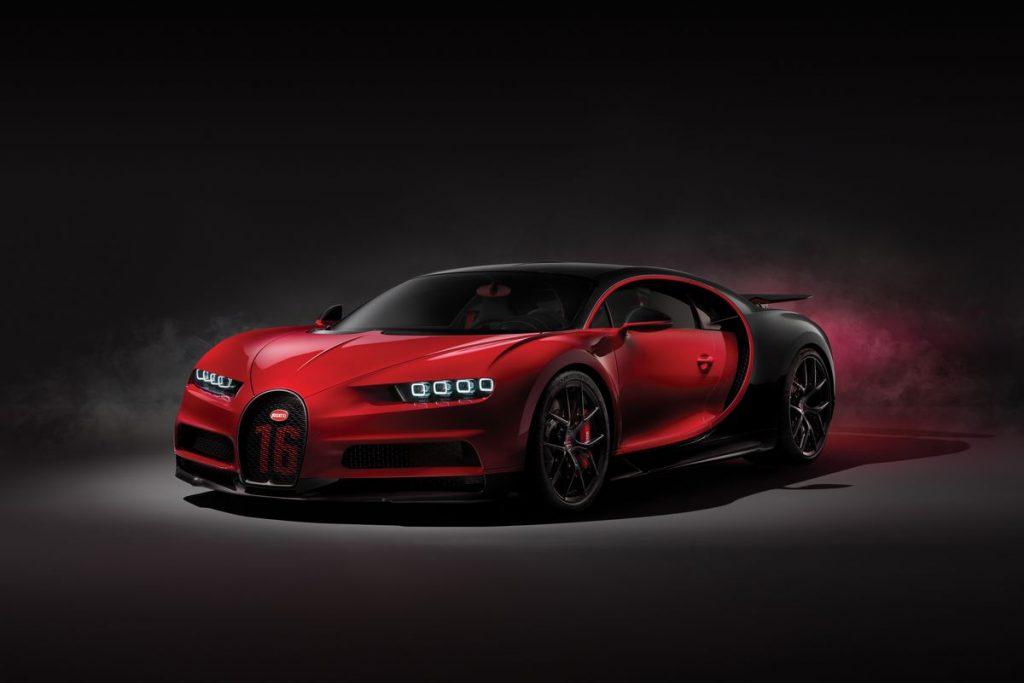 Bugatti Chiron Sport en pahalı