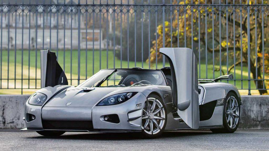4. Koenigsegg CCXR Trevita