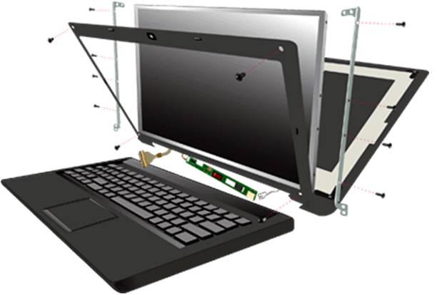 laptop ekranı nasıl değiştirilir