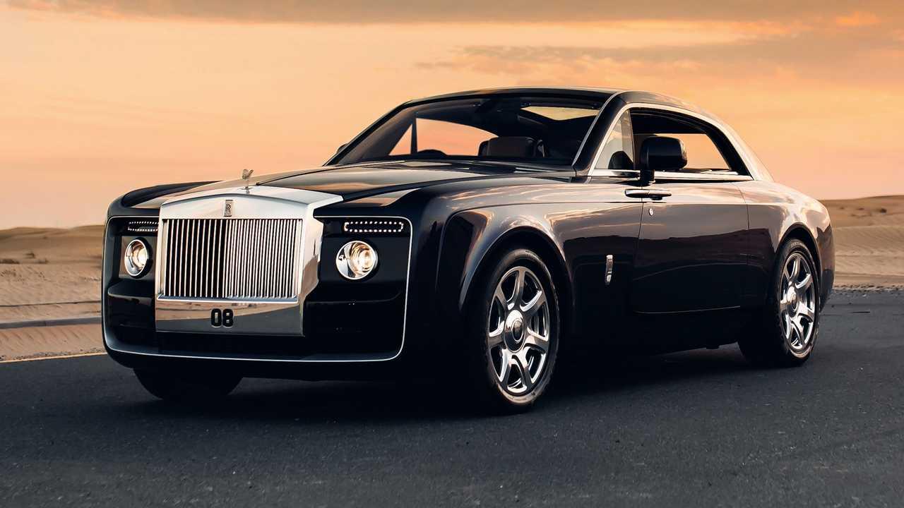 2. Rolls-Royce Sweptail